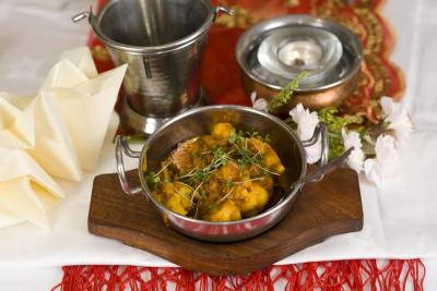 Cauliflower Bhajee