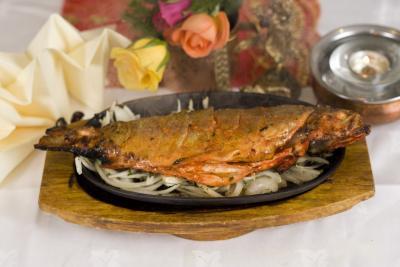 Nepalese Tandoori Fish